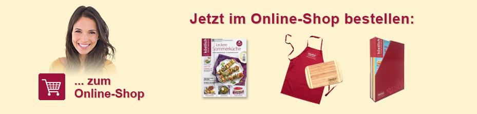 Bestellen im Online-Shop