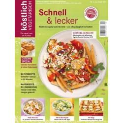 köstlich vegetarisch - Schnell & lecker (Ausgabe 02/2012)