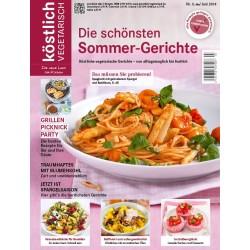 köstlich vegetarisch - Die schönsten Sommer-Gerichte (Ausgabe 03/2014)