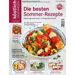 köstlich vegetarisch - Die besten Sommer-Rezepte (Ausgabe 03/2013)