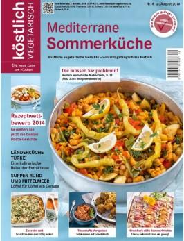 köstlich vegetarisch - Mediterrane Sommerküche (Ausgabe 04/2014)
